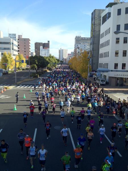 神戸マラソン 2012.11.25